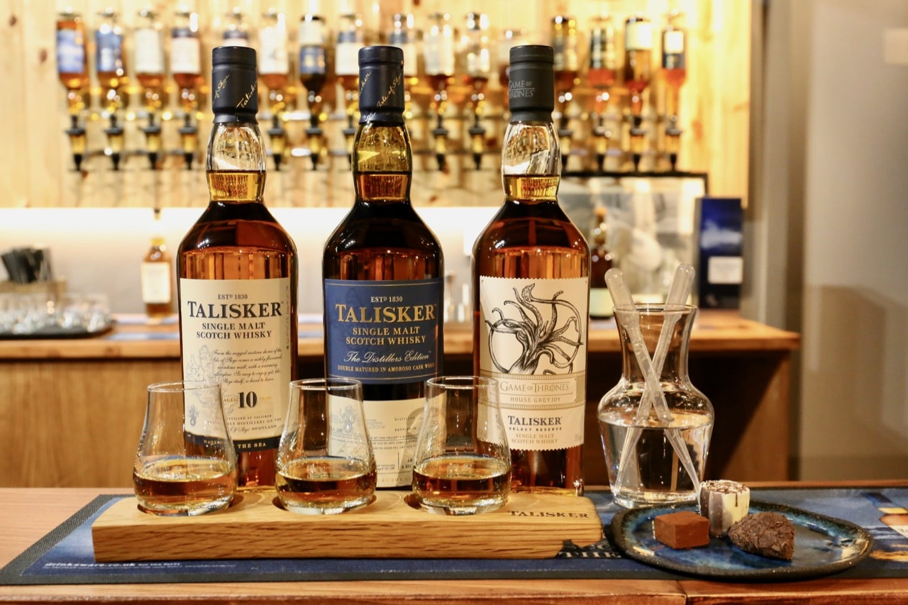 Things To Do in Skye: Enjoy a whisky tasting at Talisker Distillery.