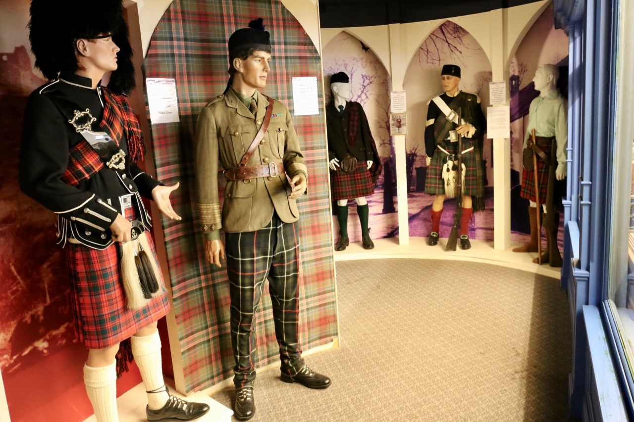 The Scottish Kiltmaker Visitor Centre is both a fascinating museum and fashion boutique.