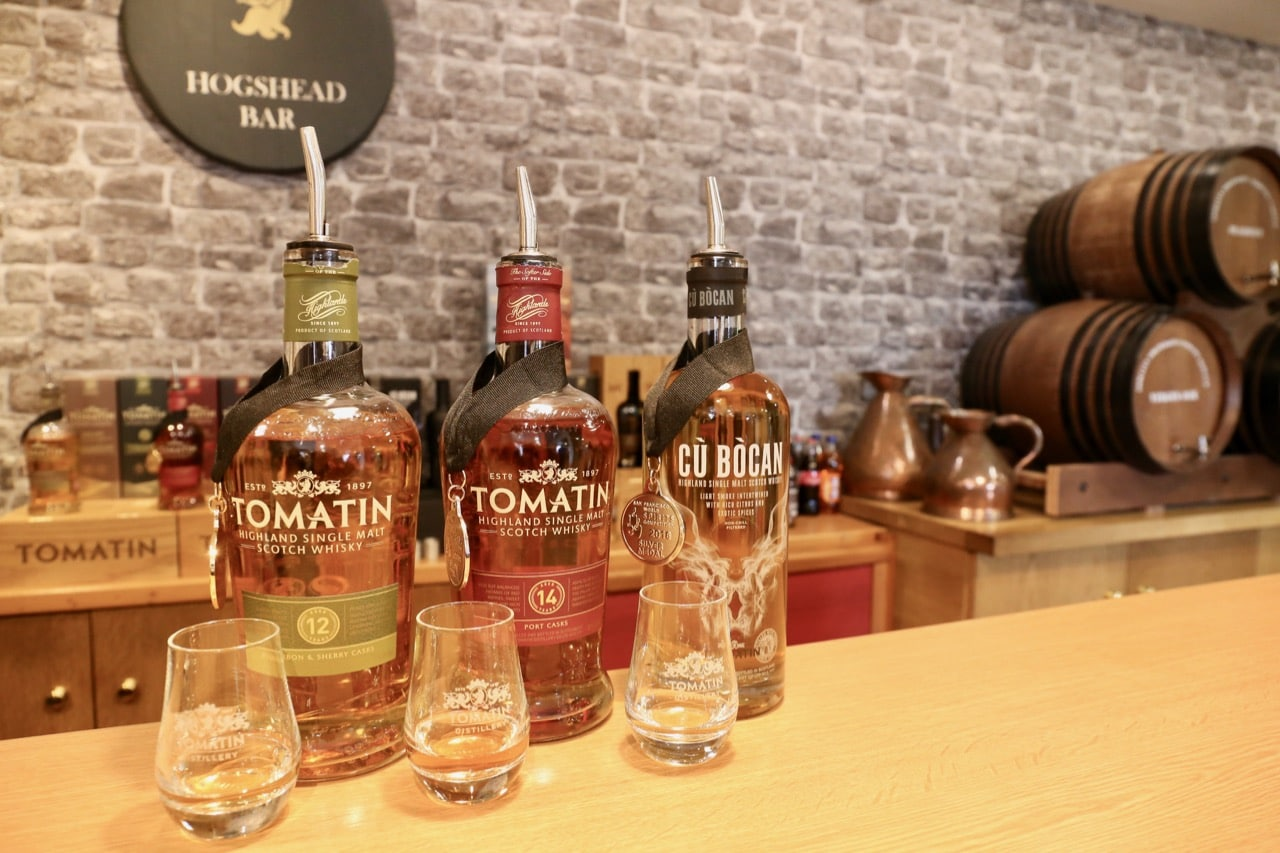 Things To Do in Inverness: Enjoy a tour and whisky tasting at Tomatin Distillery.