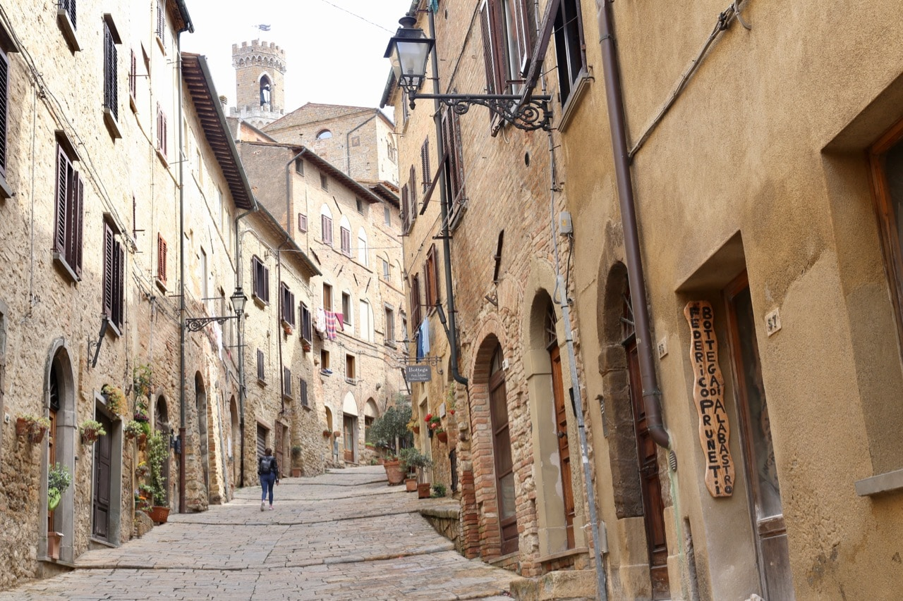 Spend a day exploring the old town of Volterra.