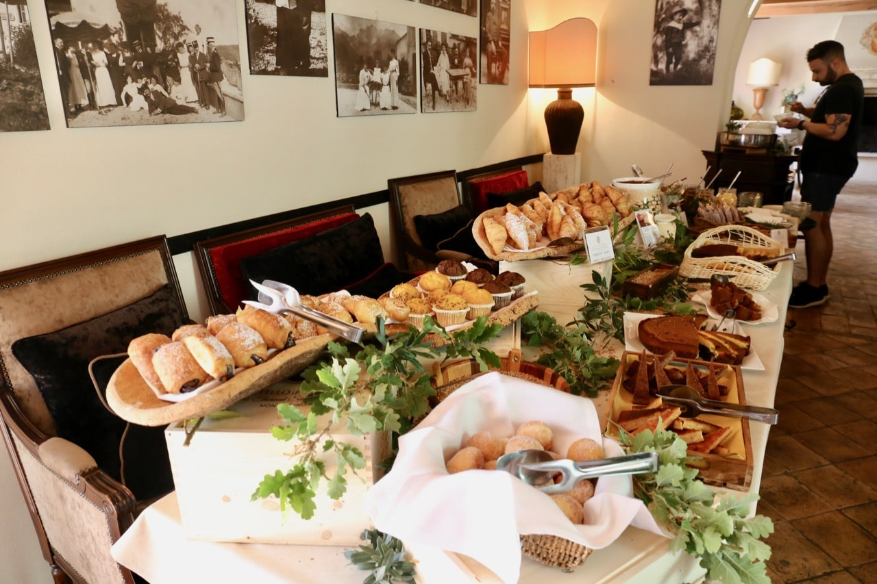 Wake up to the world and enjoy a luxurious buffet brunch featuring local dishes from Tuscany.
