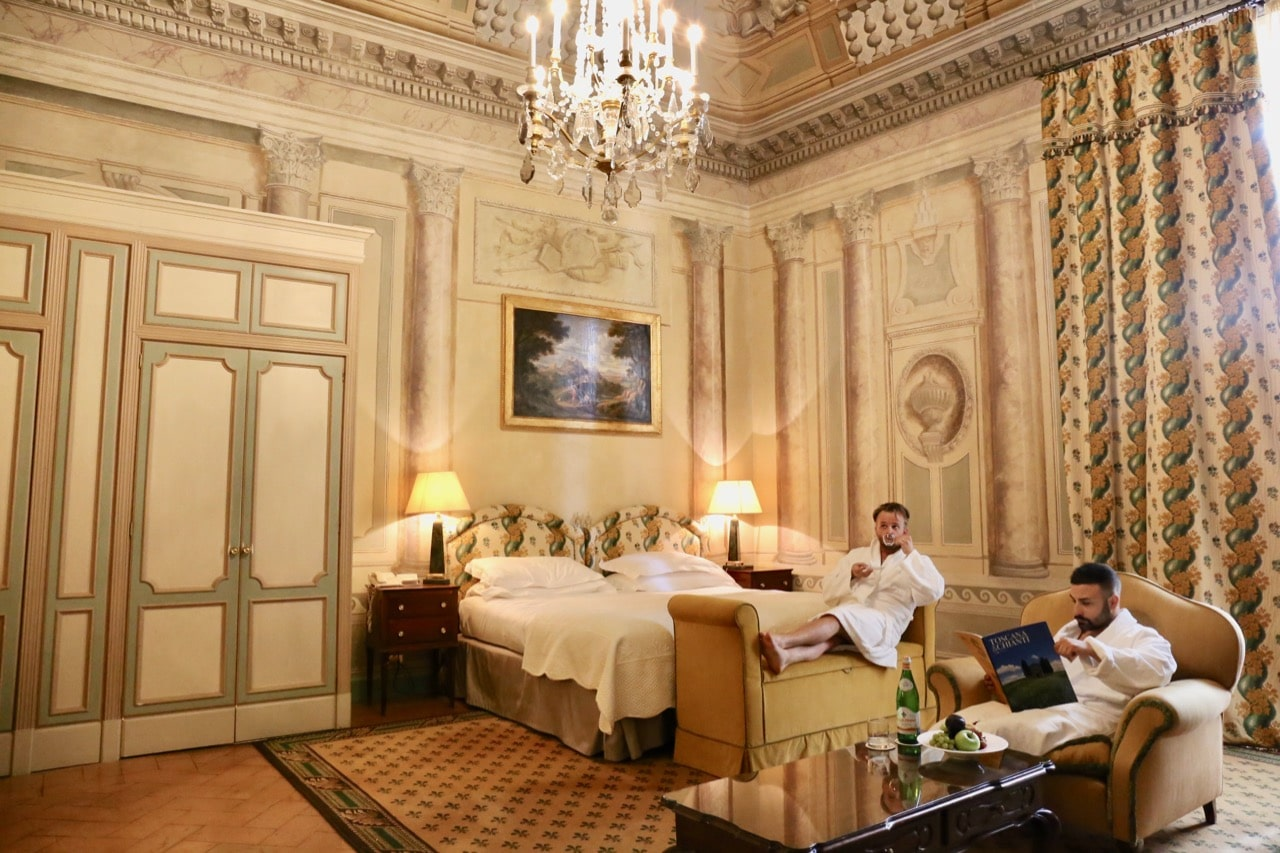 Grand Hotel Continental Siena is the city's only 5 star luxury hotel.