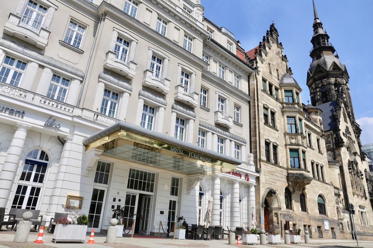 Furstenhof Hotel is the oldest luxury hotel in Leipzig.