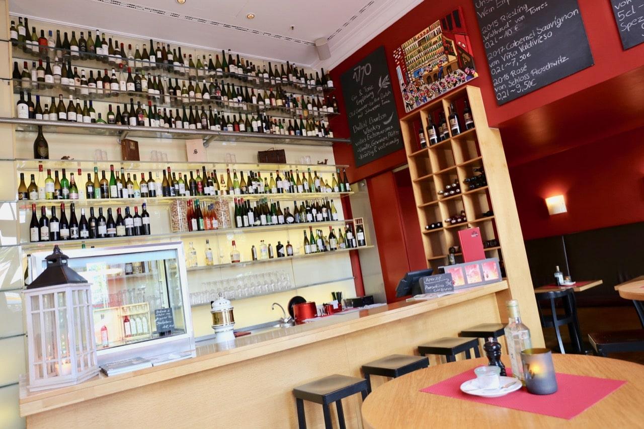 Vinothek 1770 is one of Leipzig's best wine bars.