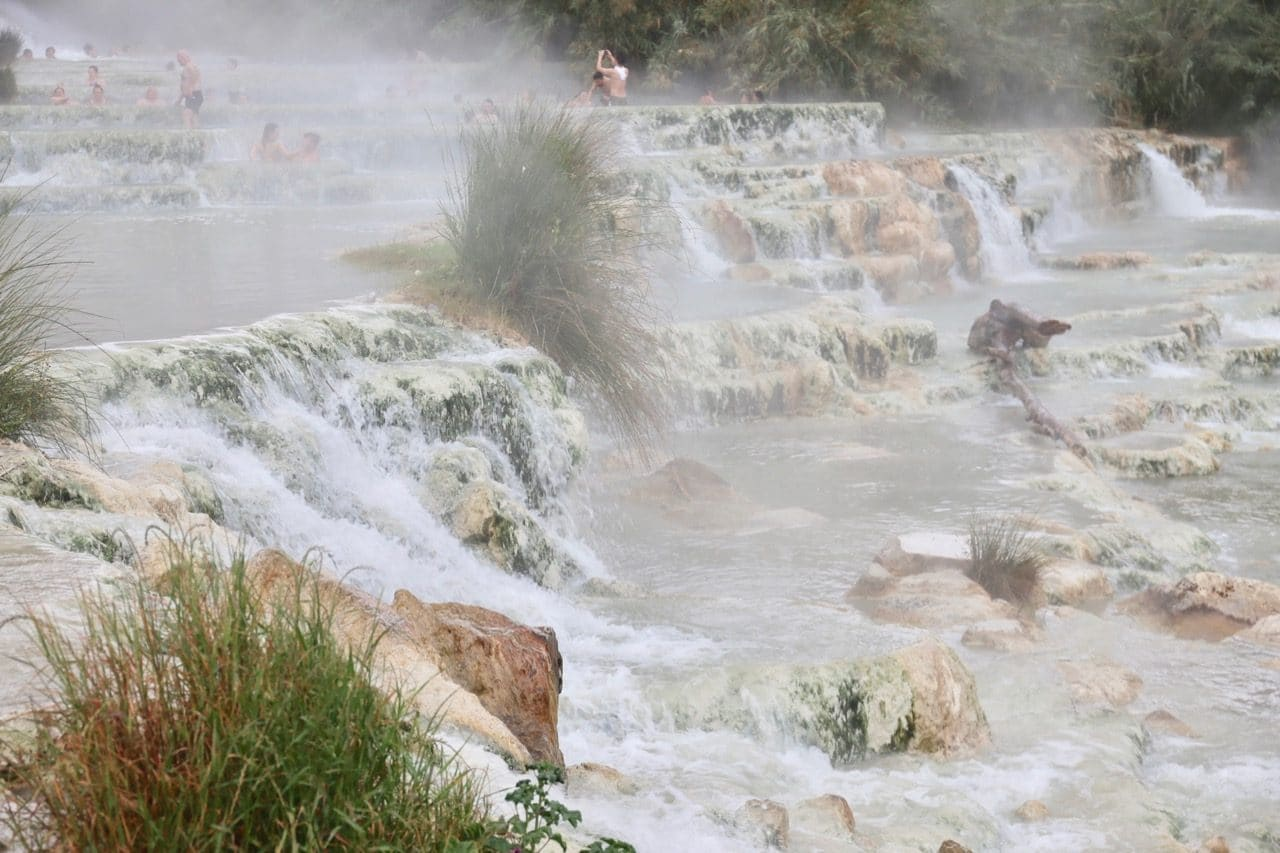 Italian's have been visiting the Saturnia Hot Springs for centuries.