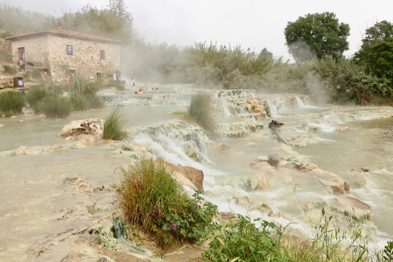 Tuscan honeymoon: enjoy an al fresco spa day in Saturnia.