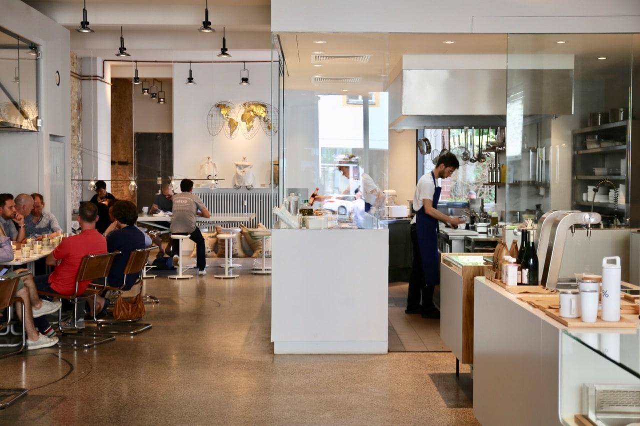Arabica Berlin Kreuzberg is the European flagship for a popular East Asian cafe concept.