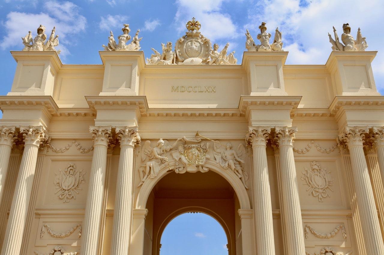 Start your walking tour of gay Potsdam at Brandenburg Gate.