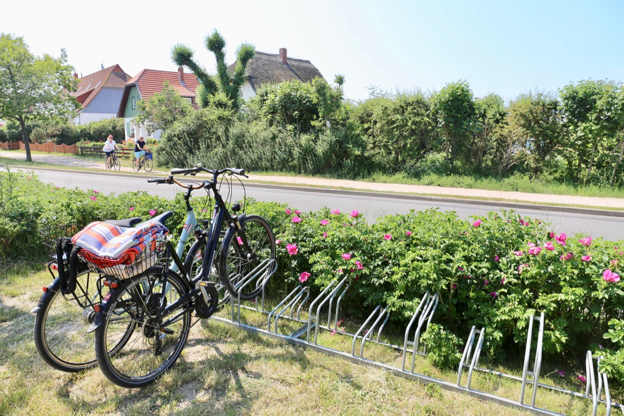 The best way to travel around the beaches in Germany is by renting a bike.