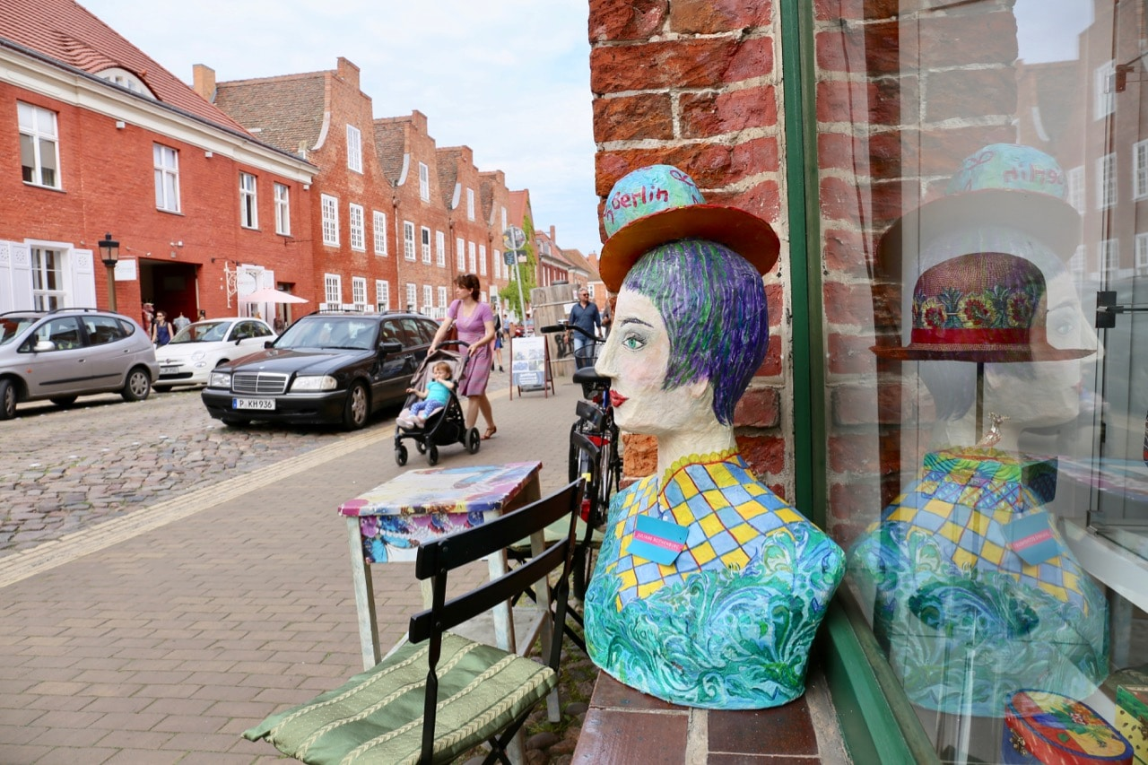 Enjoy a shopping spree in gay Potsdam's Dutch Quarter.