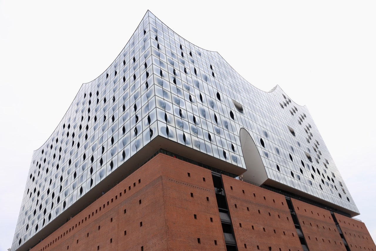 Hamburg's most famous modern architectural marvel is Elbphilharmonie.