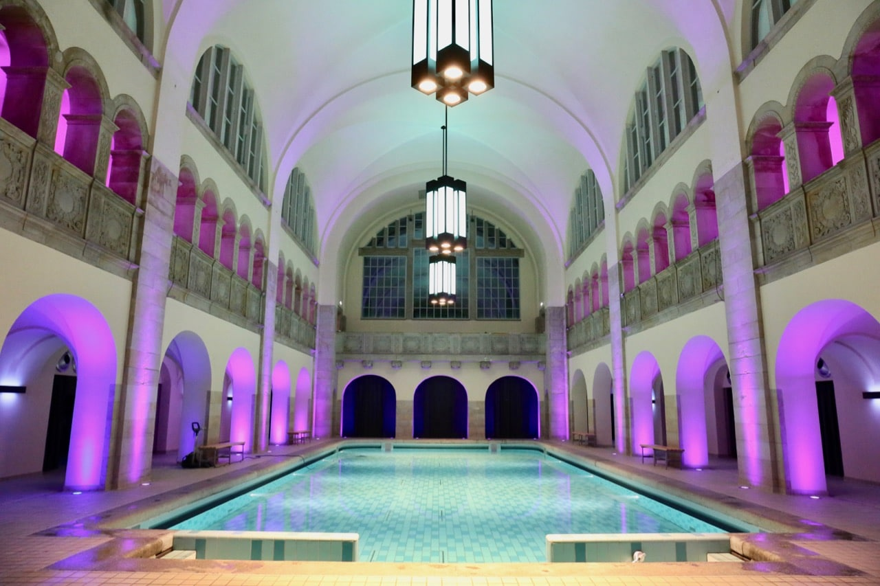 Most locals in Berlin are familiar with the Oderberger's indoor swimming pool.
