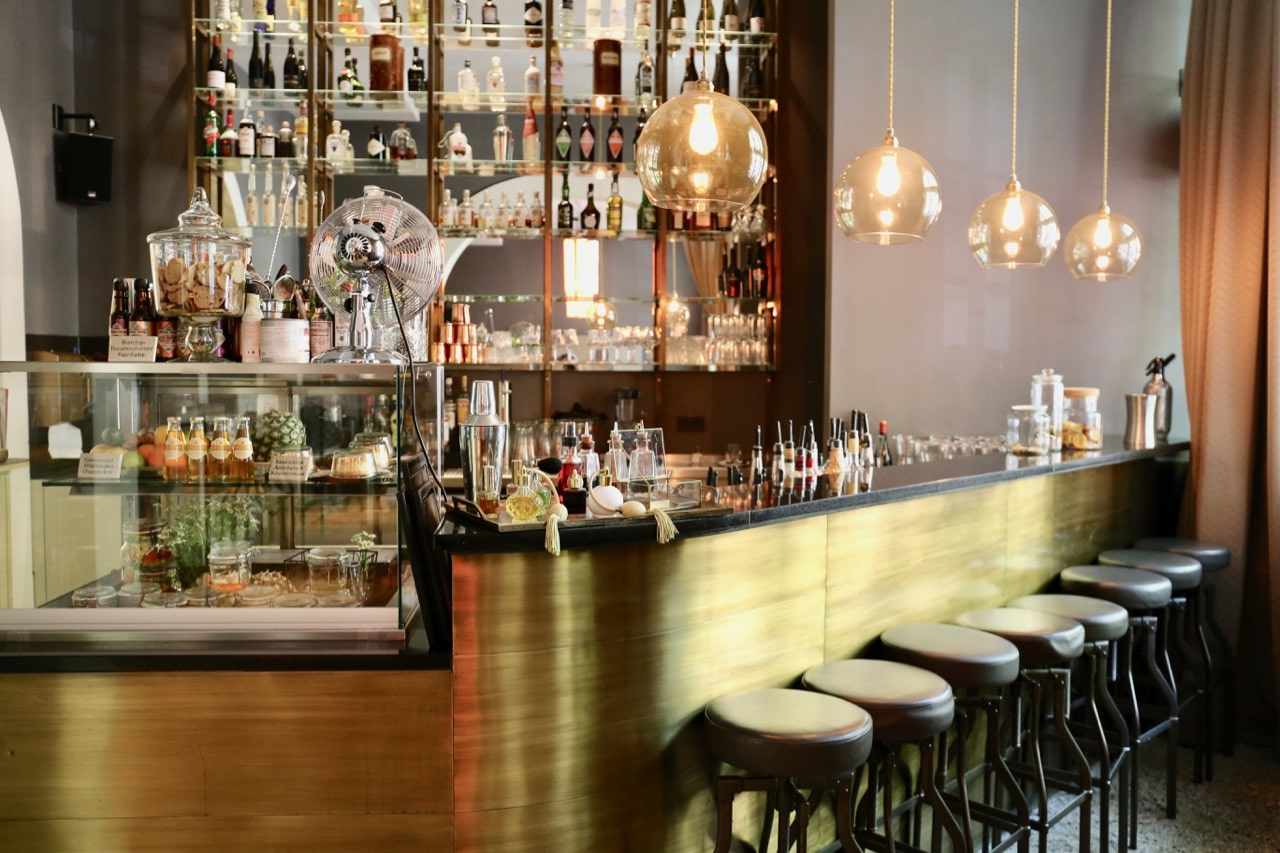 Hop up on a stool at Hotel Oderberger Berlin's bar.