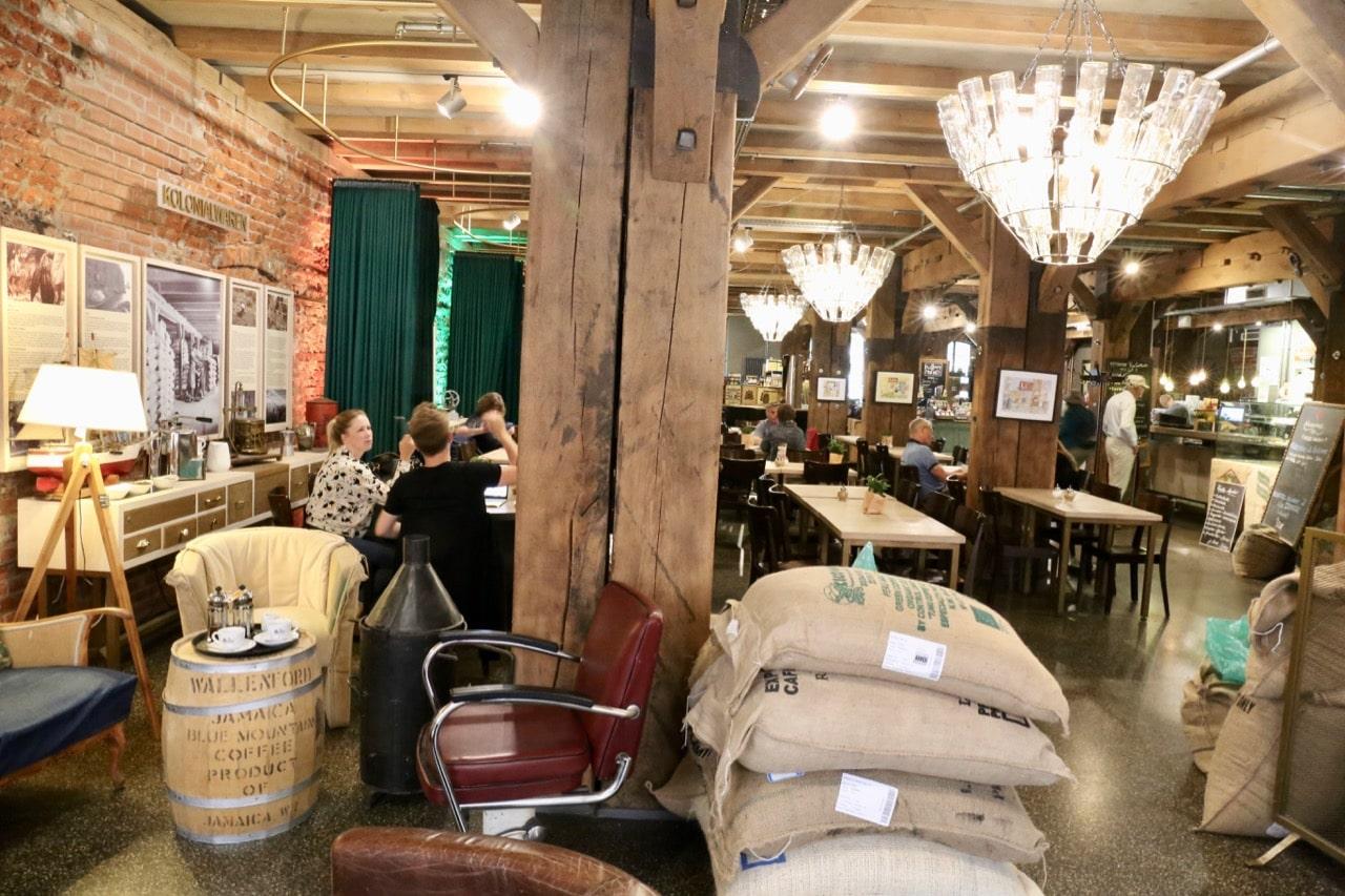 Coffee aficionado's spending a weekend in gay Hamburg should visit Kaffeemuseum-Burg.
