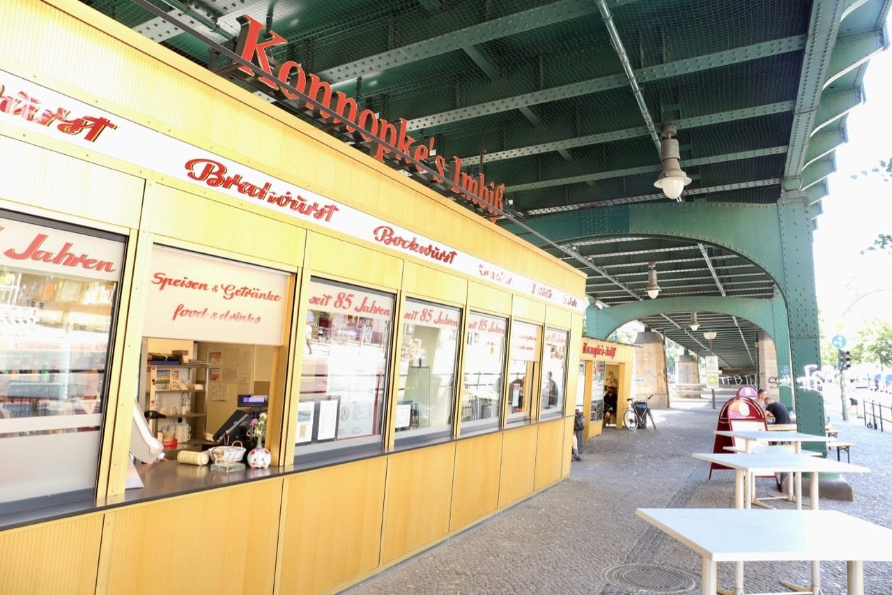 Konnopke's Imbiss is a street-side sausage shop serving one of our favourite Berlin dishes.