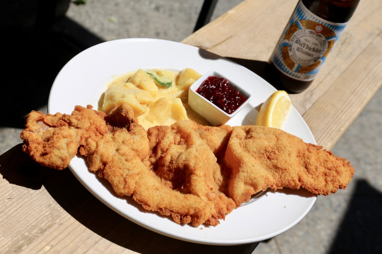 Lebensmittle in Mitte serves Berlin's best schnitzel.