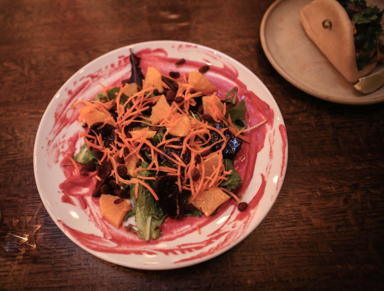 Stratford Restaurants: Roasted Beet Salad at Mercer Kitchen.