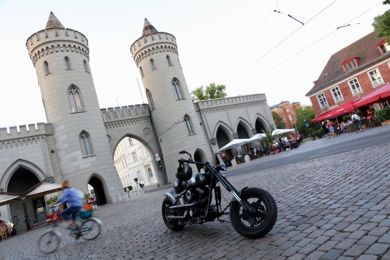 Potsdam's iconic Nauener Tor is located near the Dutch Quarter.