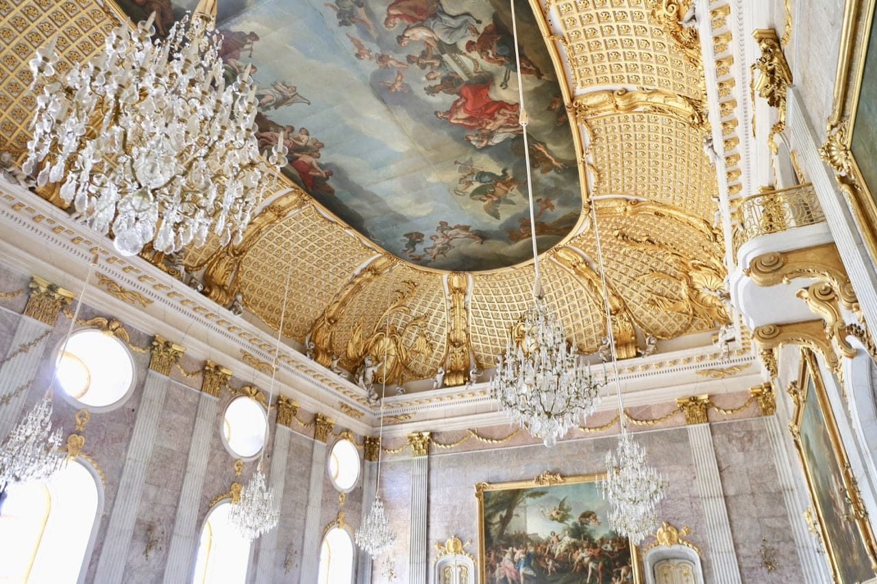 Enjoy a glamorous day in gay Potsdam by exploring the opulence of Neues Palais.