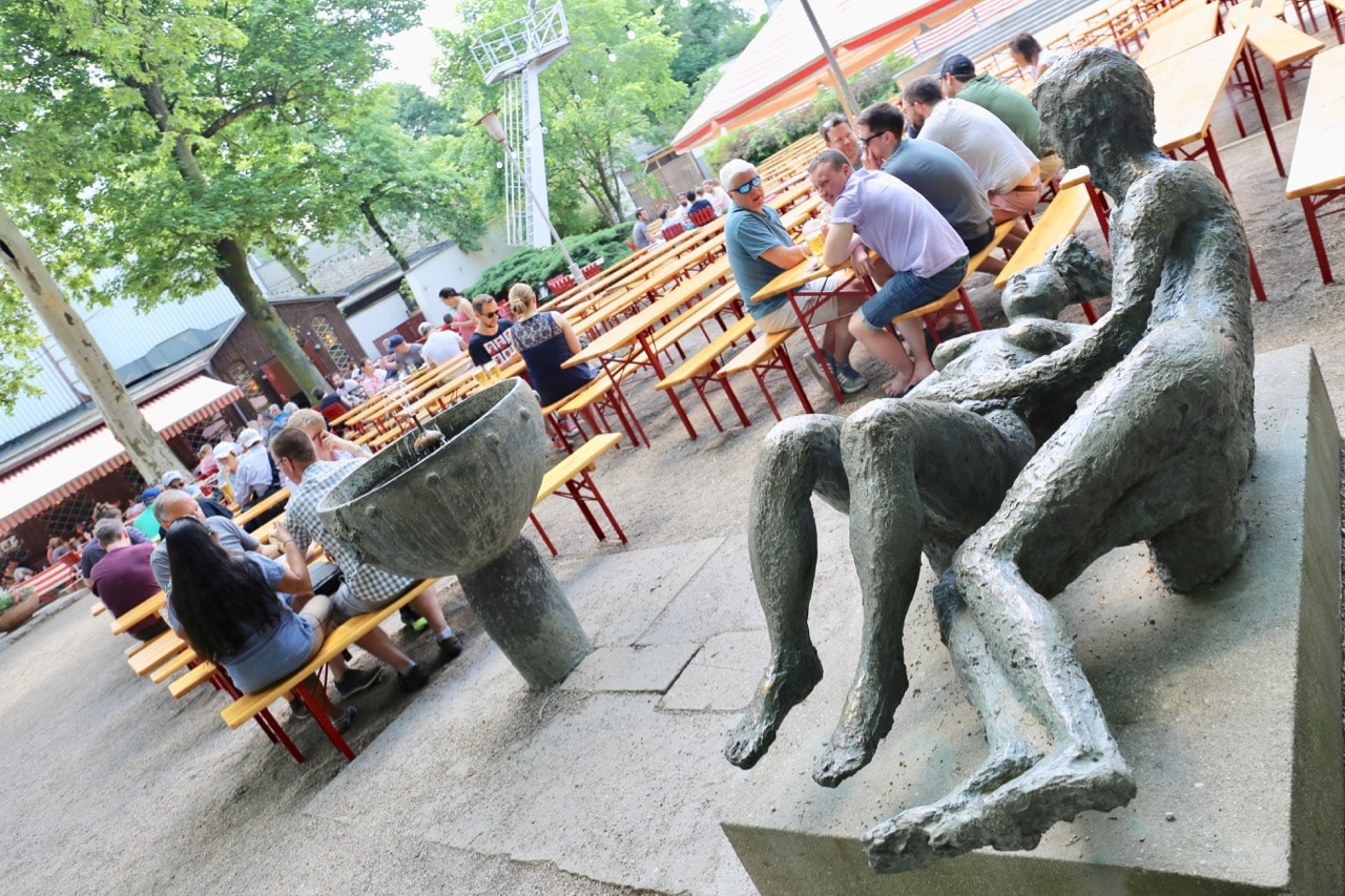 Prater Garden is a must for beer lovers on a Berlin food tour.