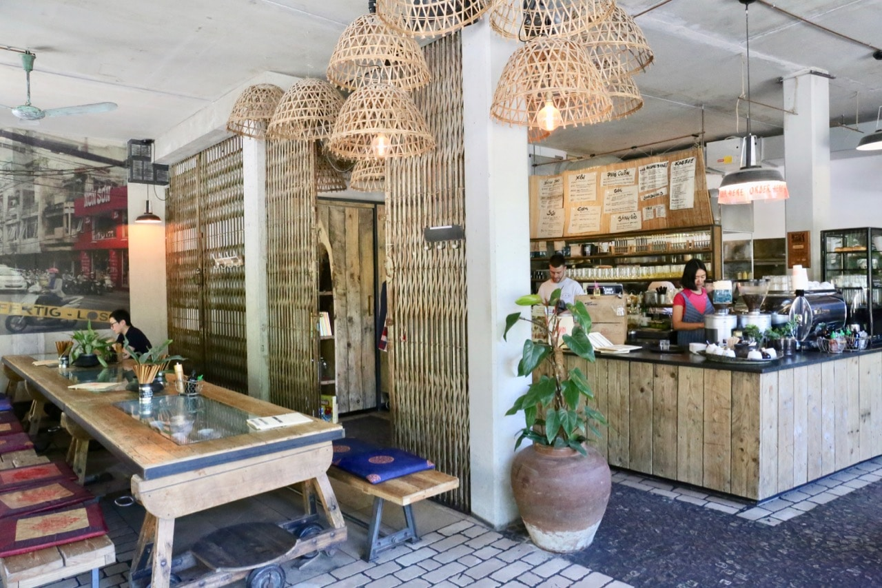 Include Quà Phê on your Berlin food itinerary and you'll sample delicious Vietnamese cuisine.