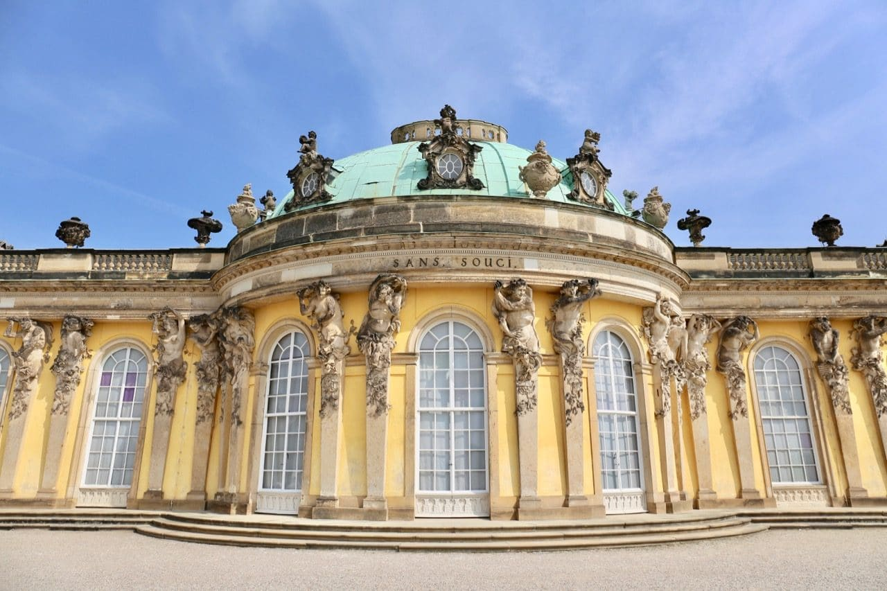 Sanssouci Palace is the city's most visited attraction.