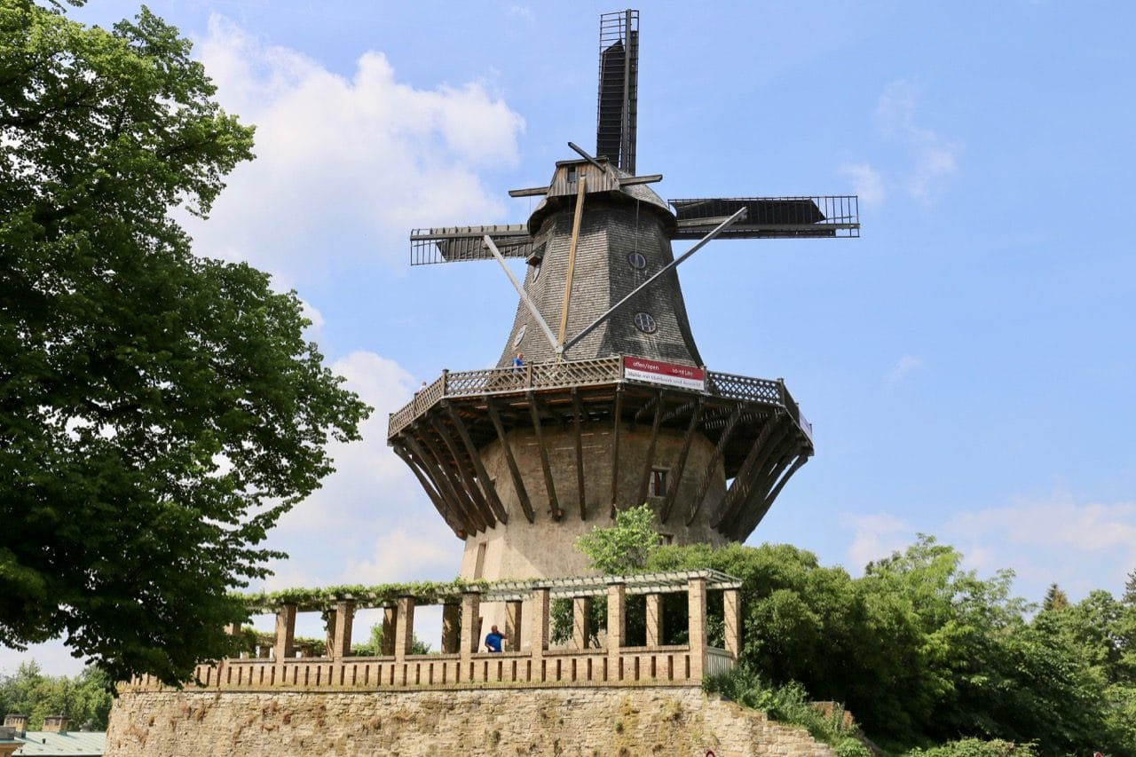 Learn about Potsdam's flour mill past at the historic windmill of Sanssouci.