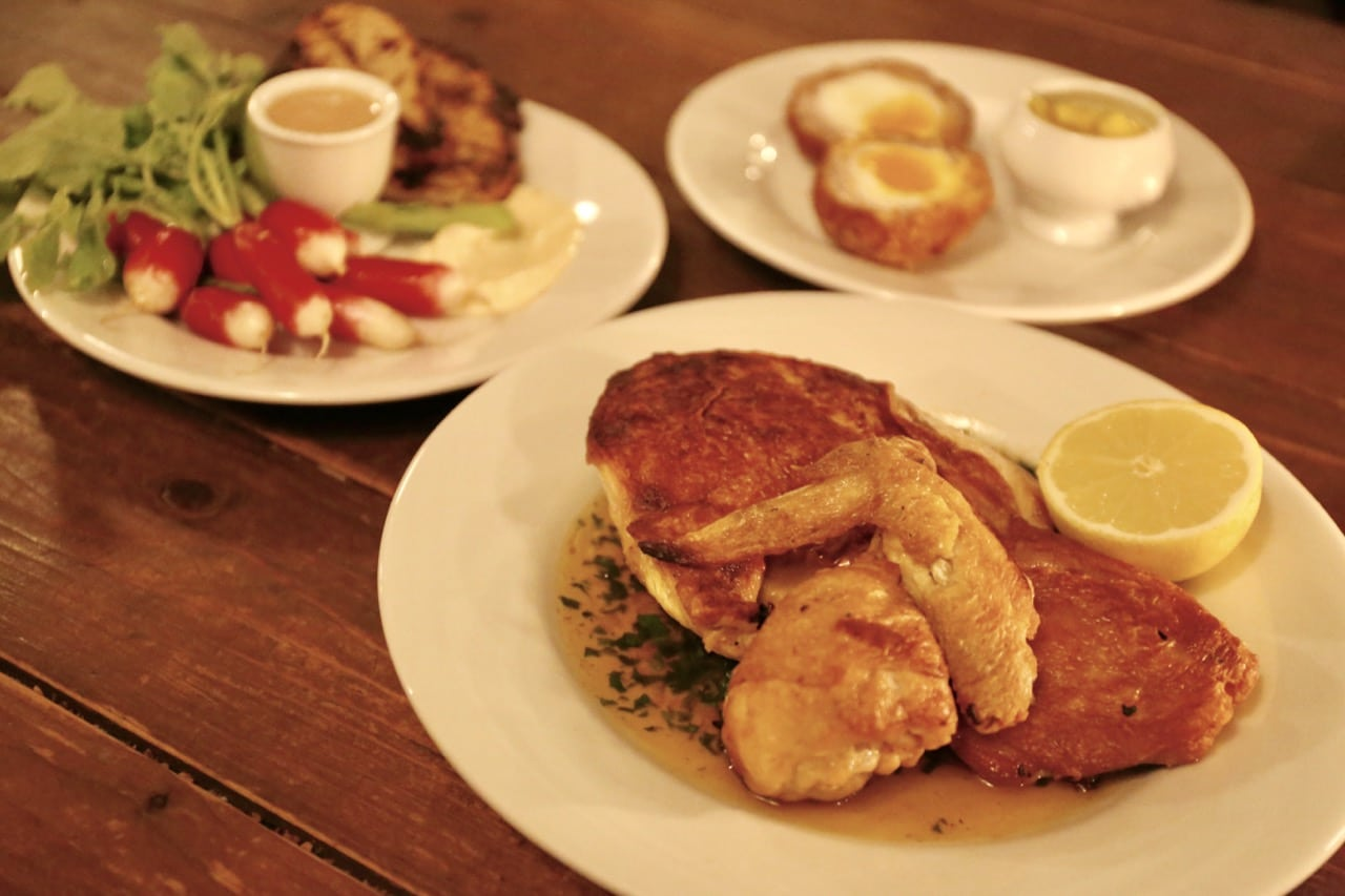 St. Bart in Berlin offers a fun and friendly dining room serving a modern pub menu.