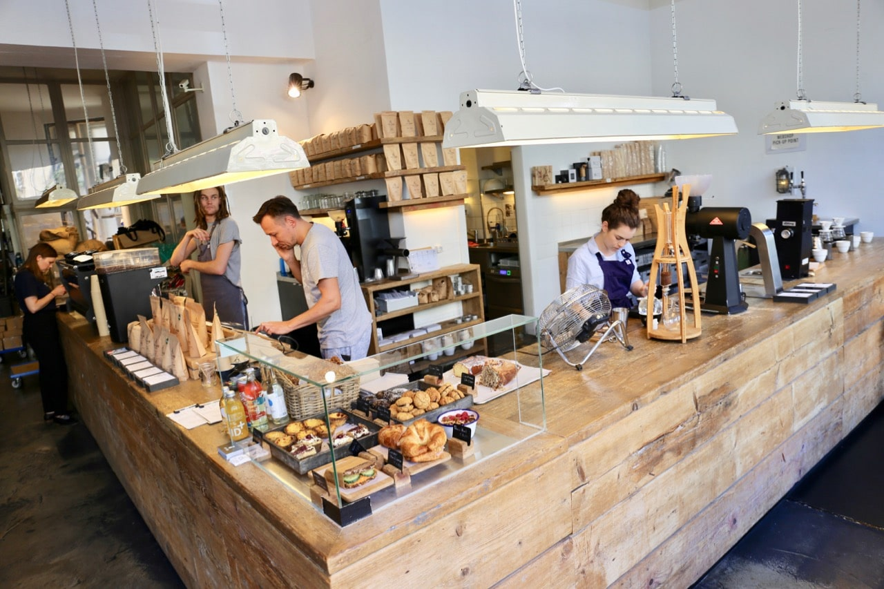 The Barn is one of Berlin's best local coffee roasters.
