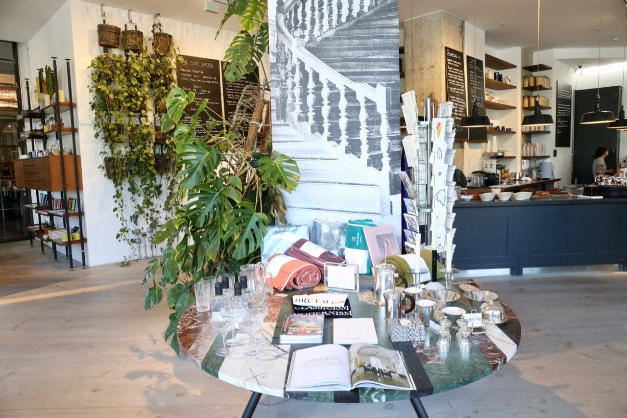 The Store at Soho House offers brunchy Berlin food alongside fancy fashion.