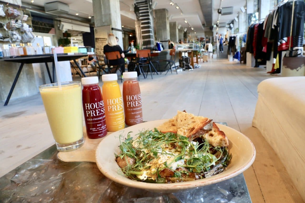 Cure a late night hangover with a healthy brunch at The Store at Soho House Berlin.