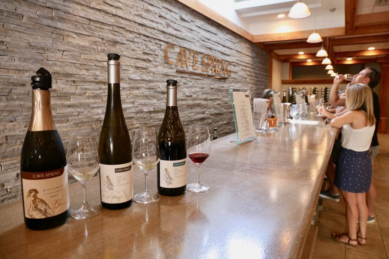 Cave Springs Cellars is famous for producing some of Ontario's best rieslings.