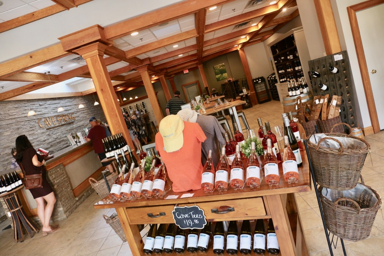Cave Spring Cellars is located in Jordan near the Beamsville Wineries.