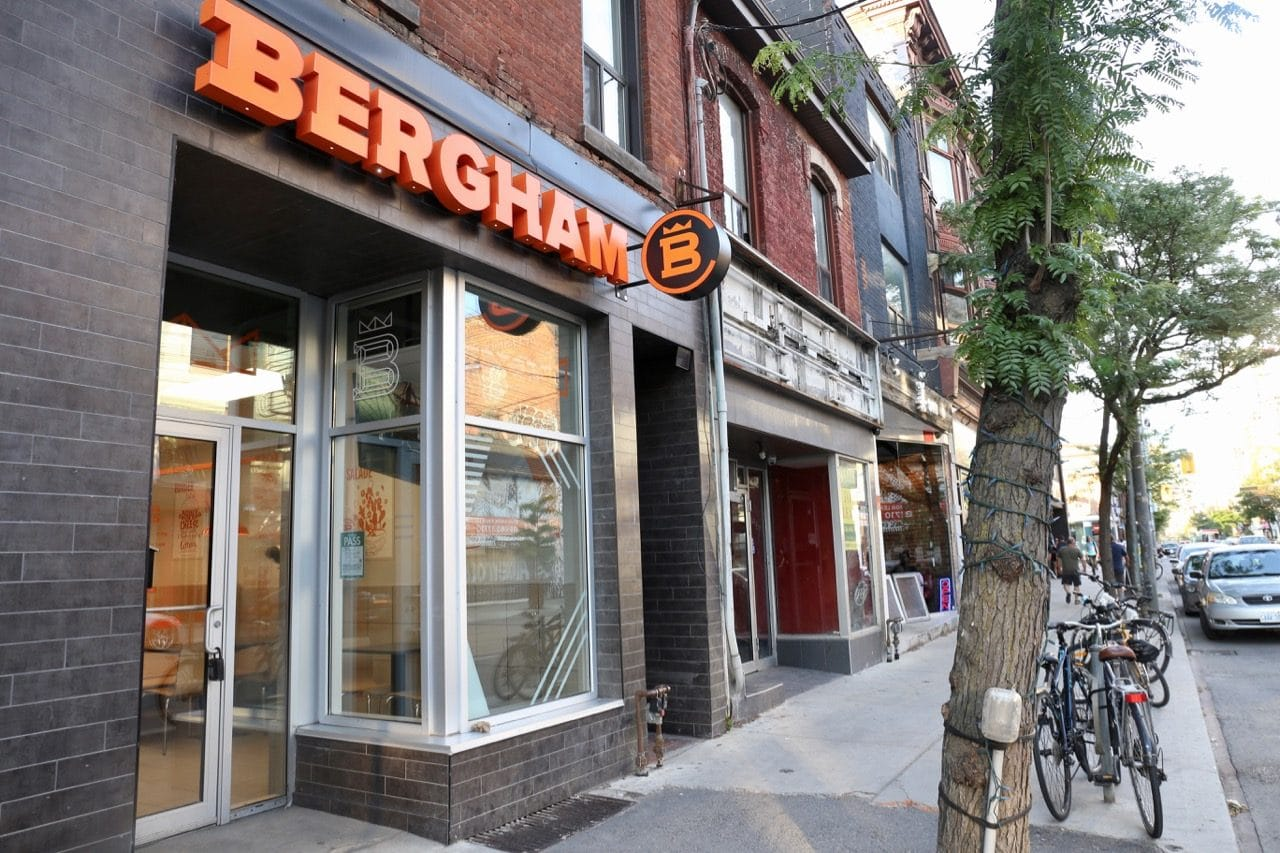 Centrale Bergham's Toronto restaurant is located on Queen Street West.