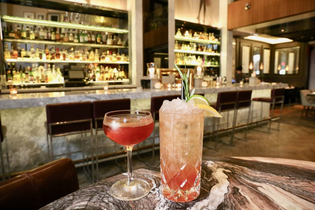Estia Toronto's bar offers some of Yorkville's best craft cocktails.