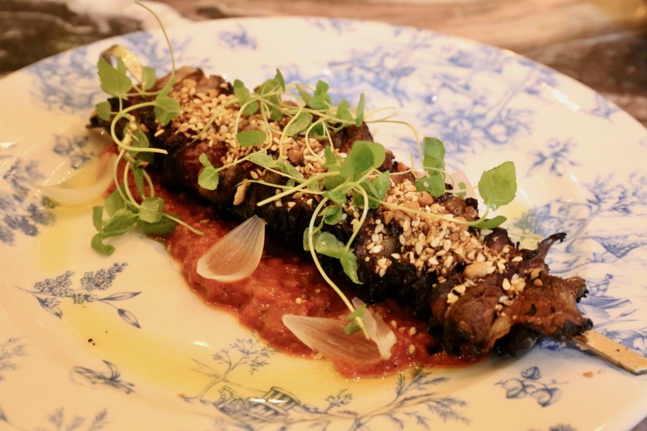 Estia Toronto's kitchen is famous for its kebabs, from smokey calamari to crunchy short rib.