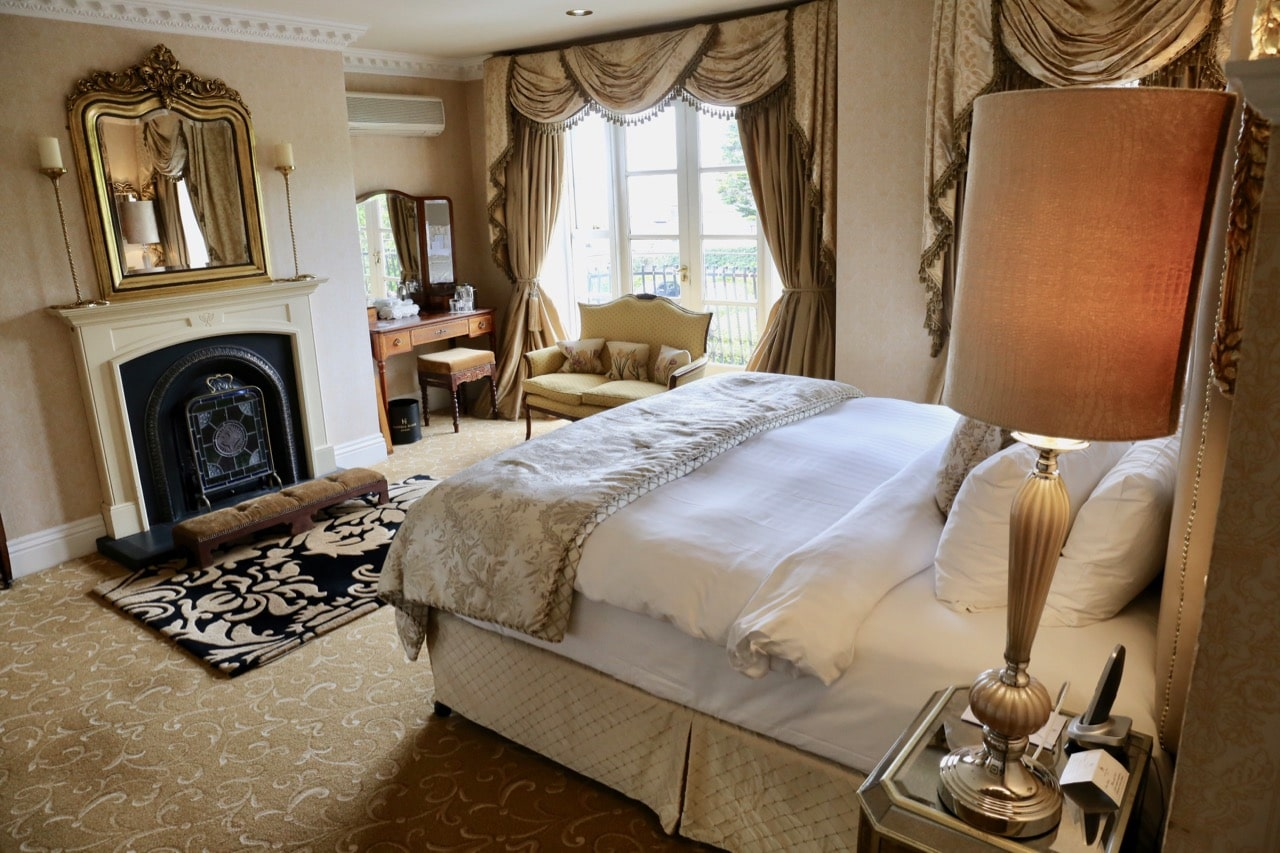 Hayfield Manor Hotel offers Cork's most romantic suites.