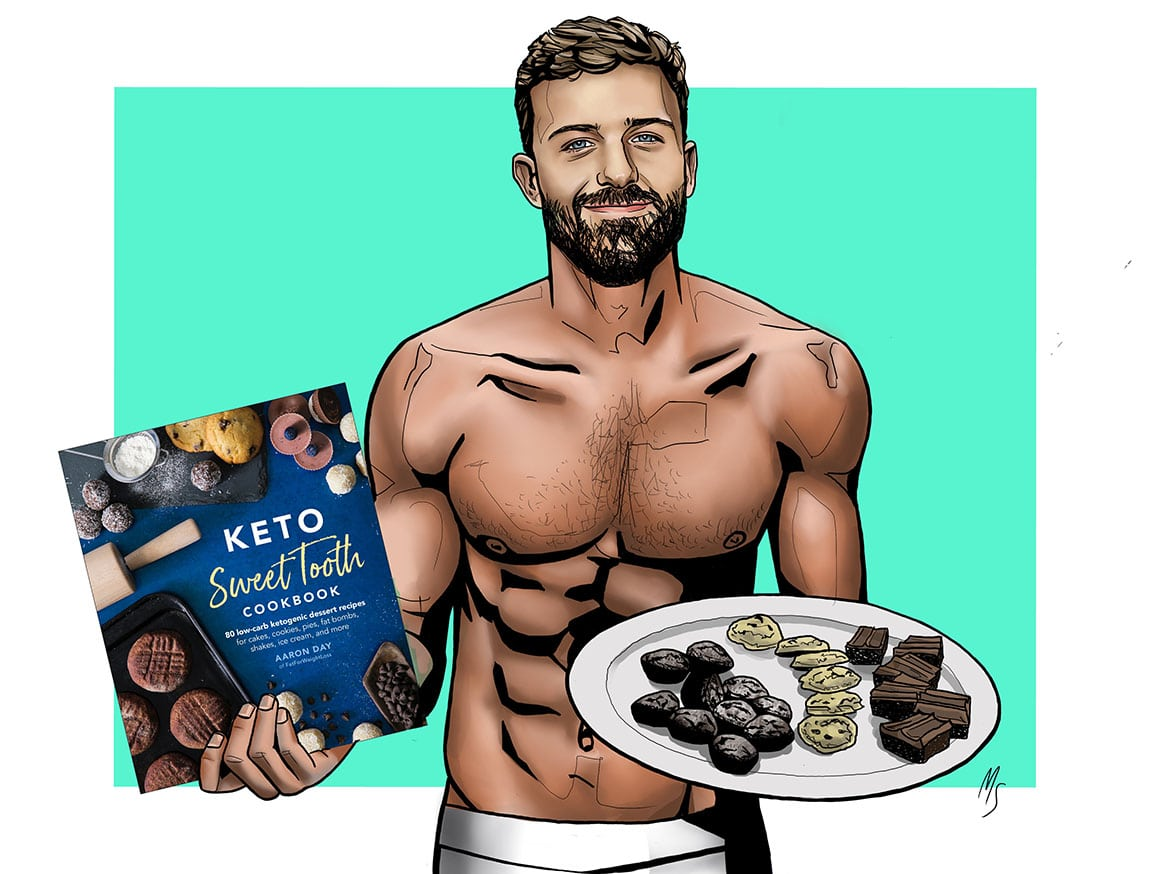 Keto Sweet Tooth Cookbook by DK Publishing.