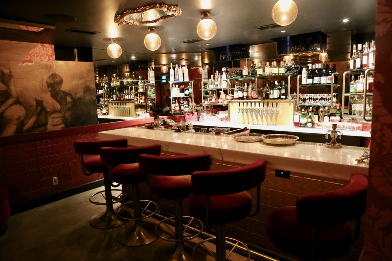 Maison Selby's secret speakeasy is located in the basement.