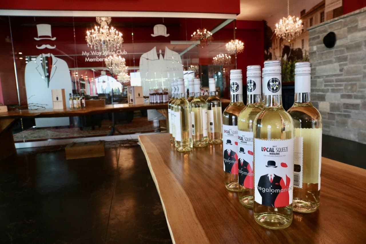 Beamsville Wineries: Megalomaniac offers a tasting room, tours and summer terrace.