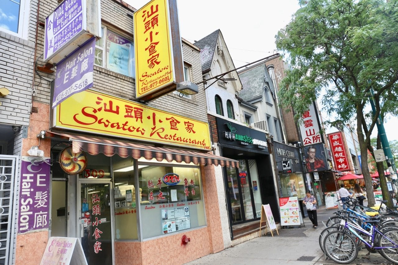 Swatow Toronto is located on Spadina Avenue in Chinatown.