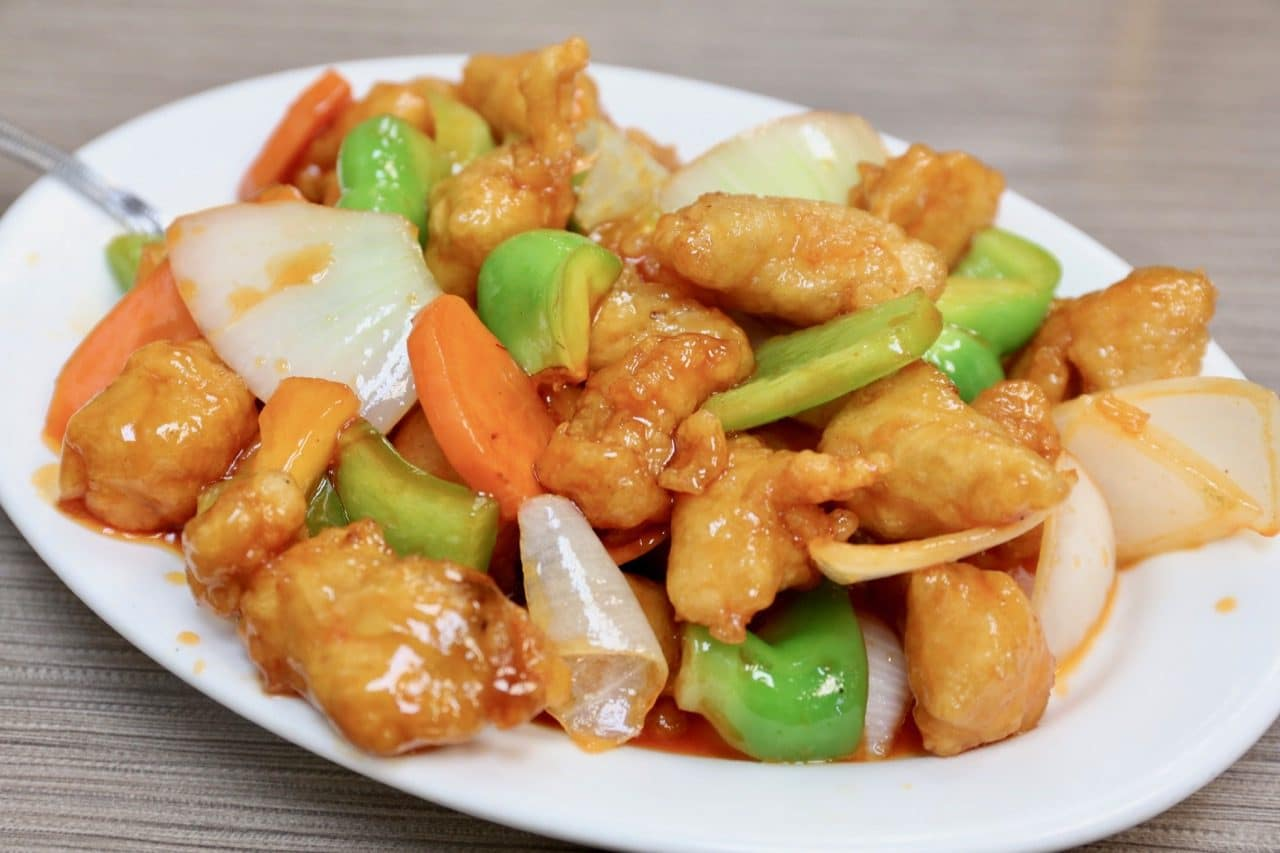 Sweet & Sour Pork.
