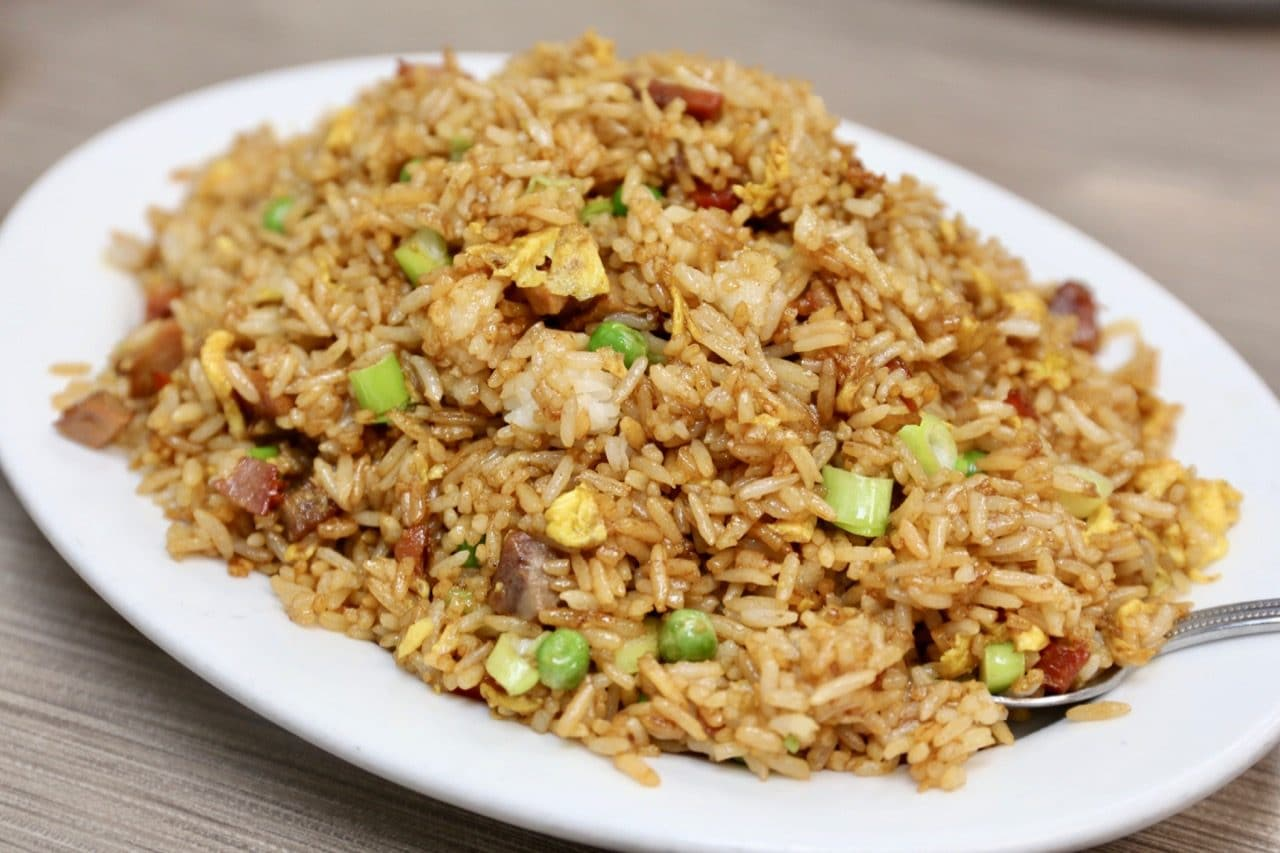 BBQ Pork Fried Rice.