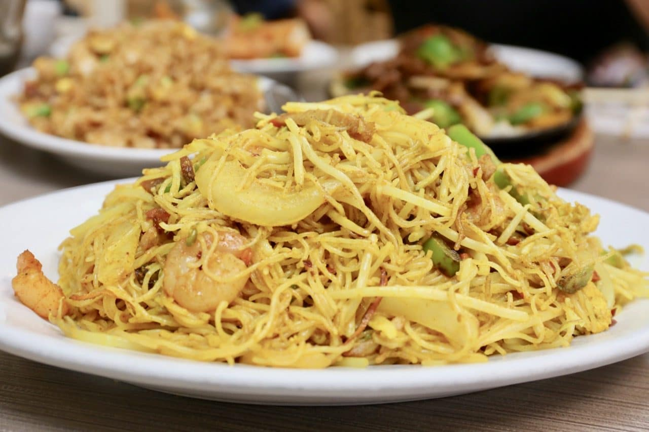 Singapore Rice Noodles.