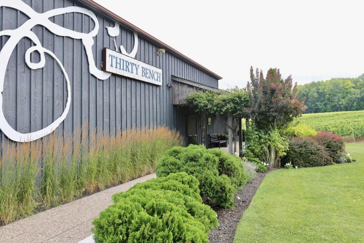 Beamsville Wineries: Thirty Bench offers a tasting room, retail shop and outdoor patio.