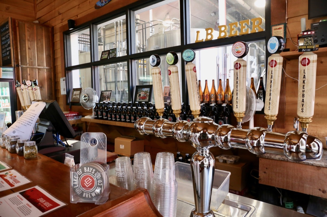 Enjoy fresh craft beer in the brewery's taproom.