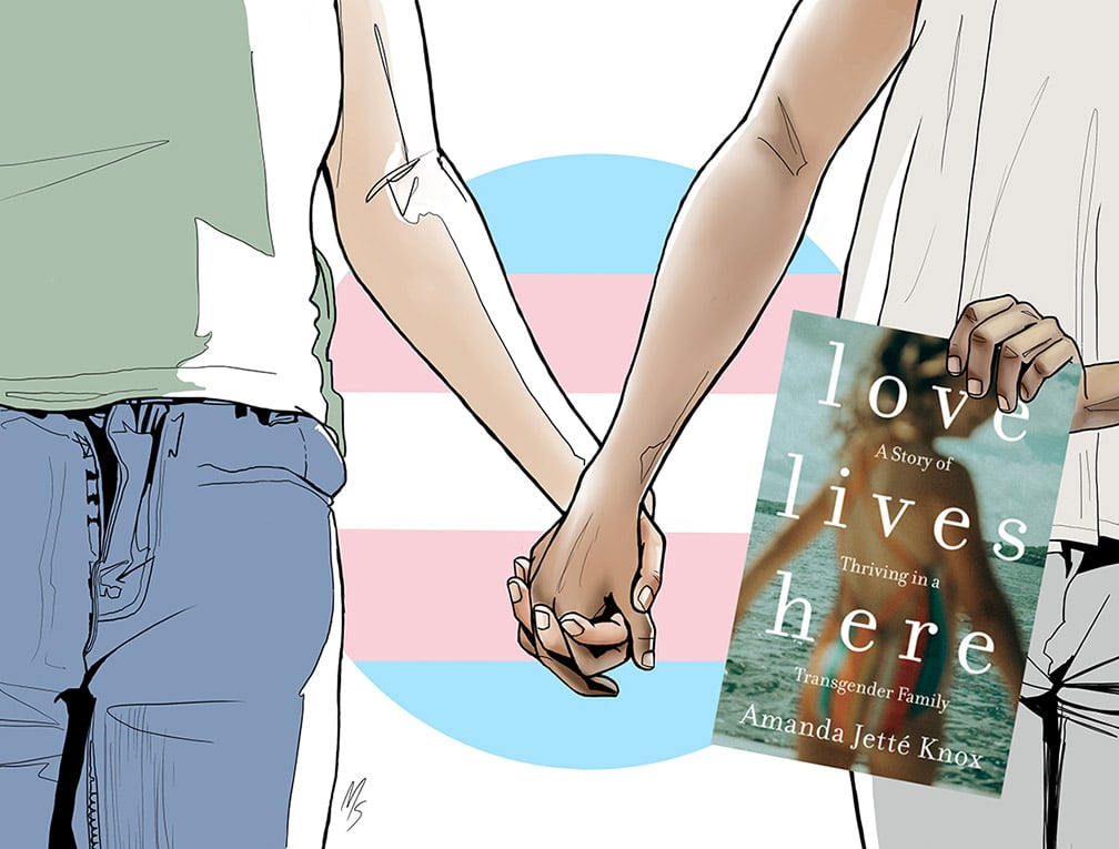 Love Lives Here by Amanda Jette Knox.
