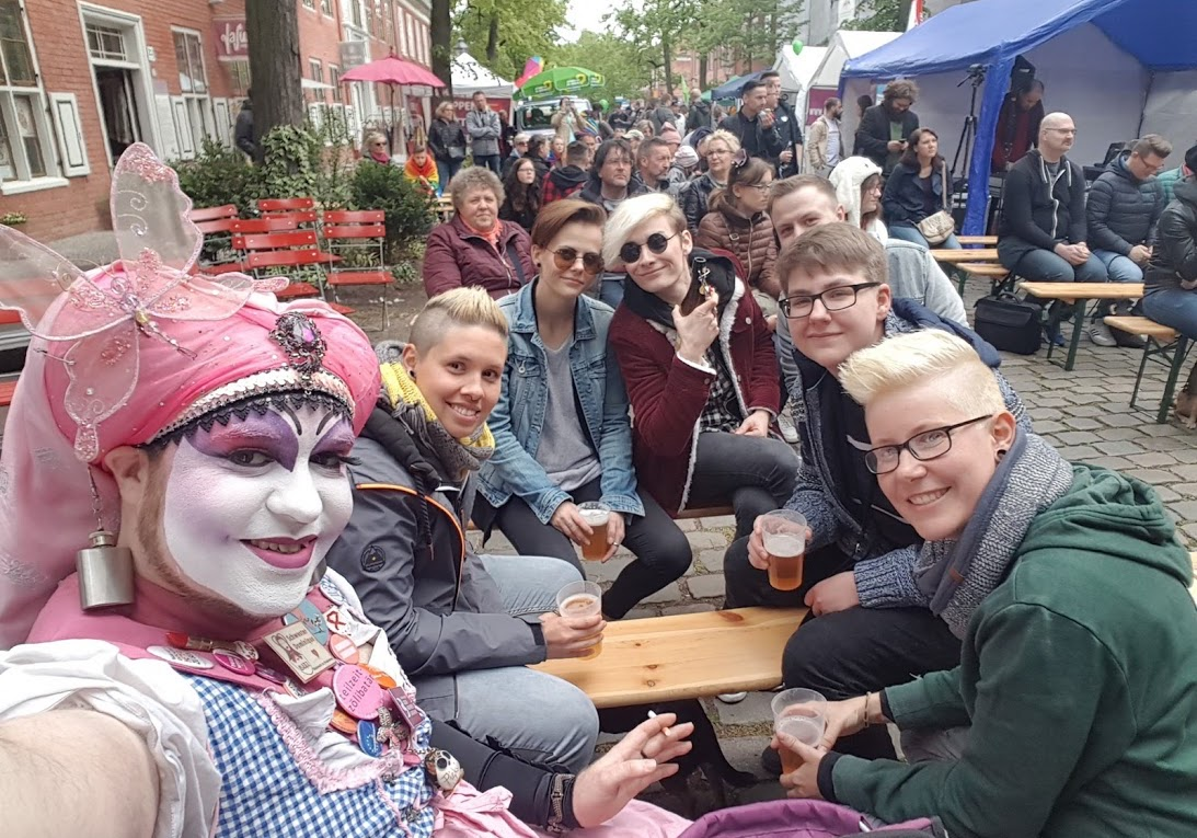 Queensday is a fun and entertaining gay event at CSD Potsdam.