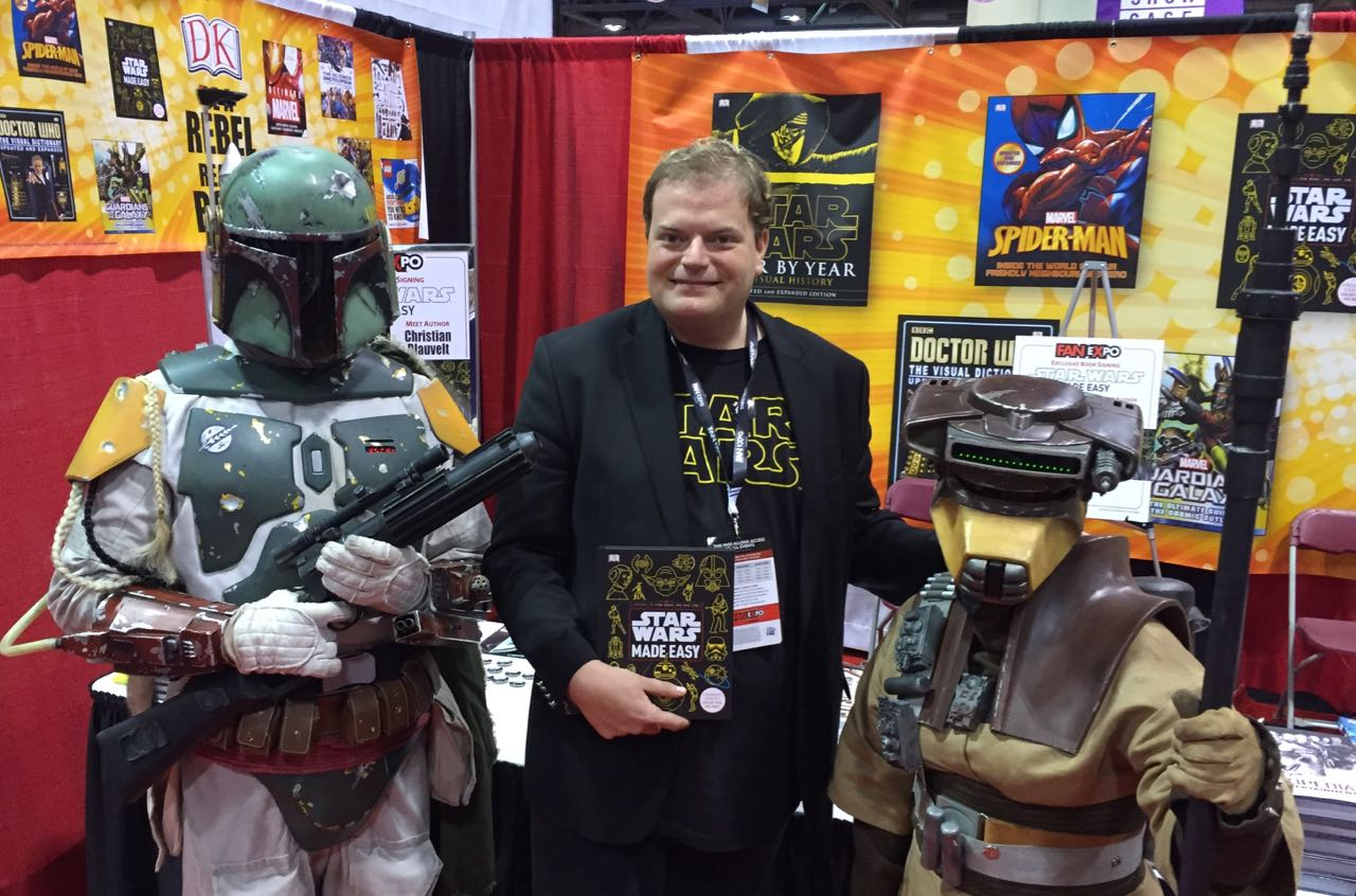 Author Christian Blauvelt will be on hand to sign copies of the latest Star Wars themed title.