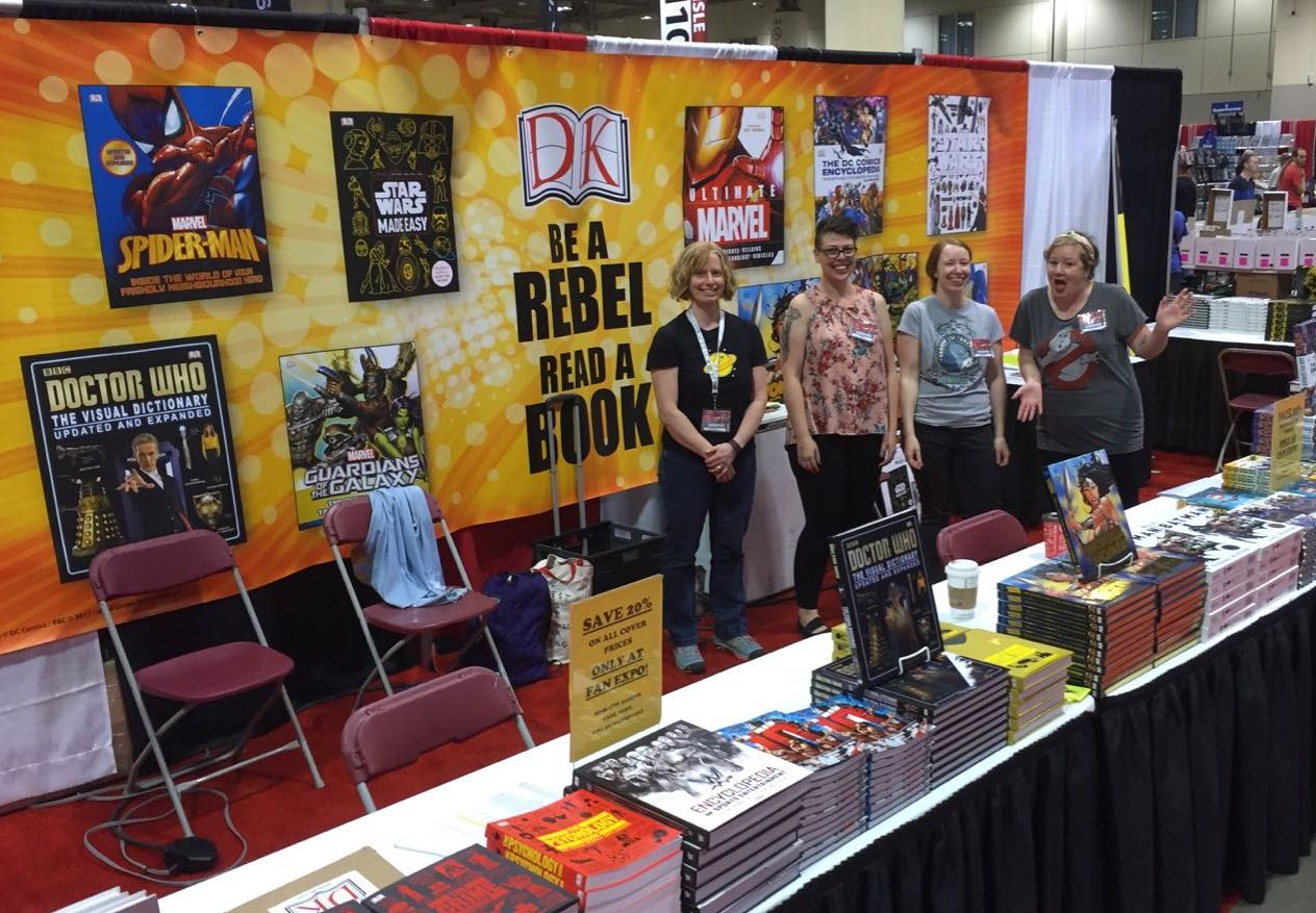Visit the DK Publishing booth to stock up on the best books at FAN EXPO Canada.